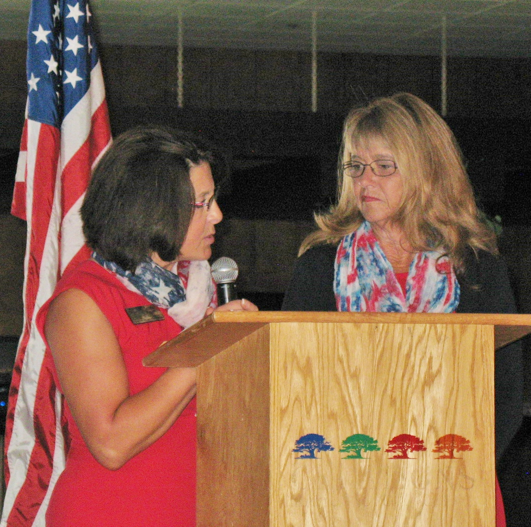 FIELD OF HONOR CHAIRMEN LAUREN KIPPEN & CINDI FARRAR