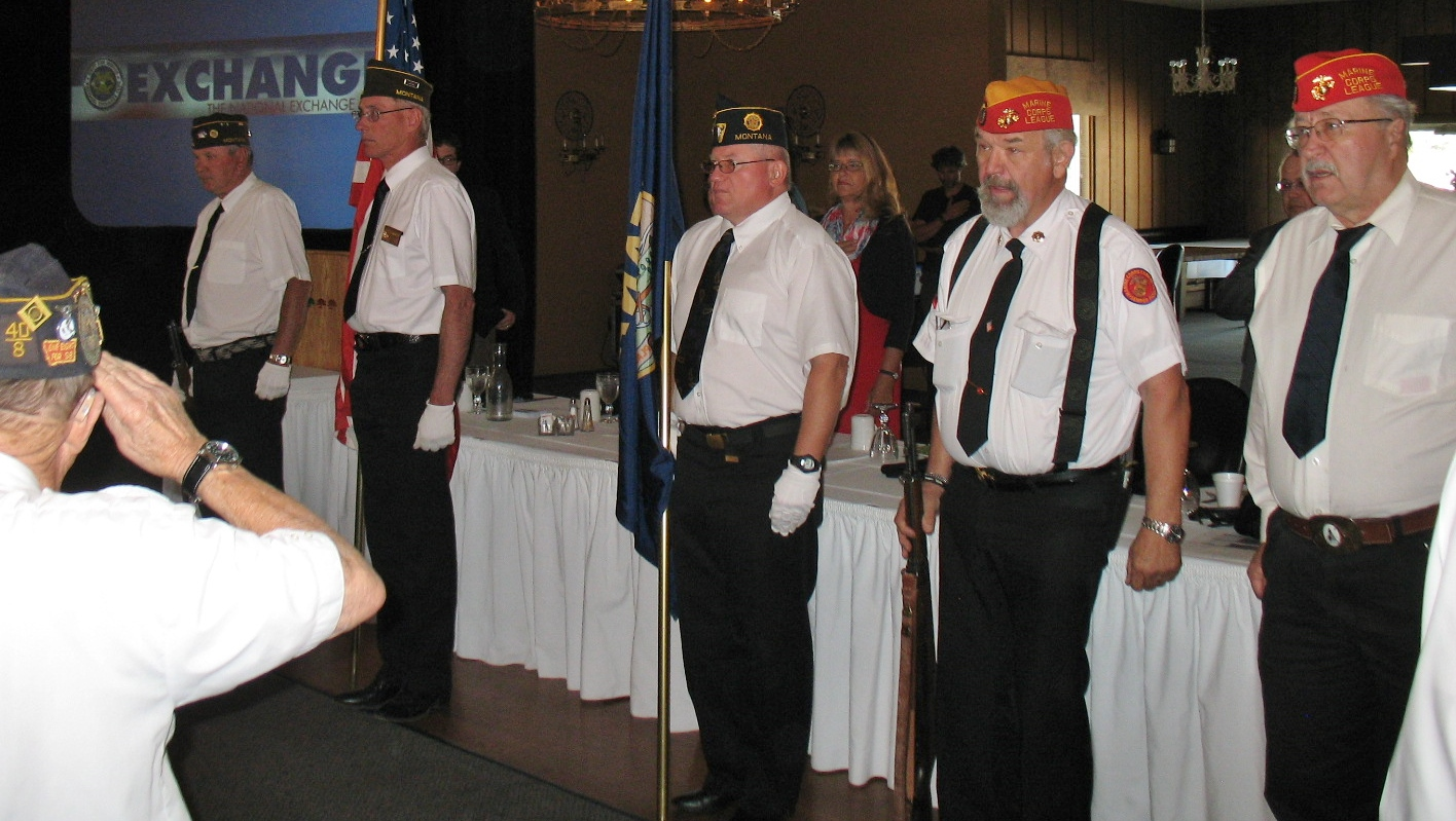COLOR GUARD OF THE UNITED VETERANS COUNCIL